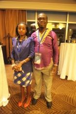Kivumbi Earnest Benjamin & Princess Scovia at EACO Congress 2015 Sheraton Hotel Kampala (5)