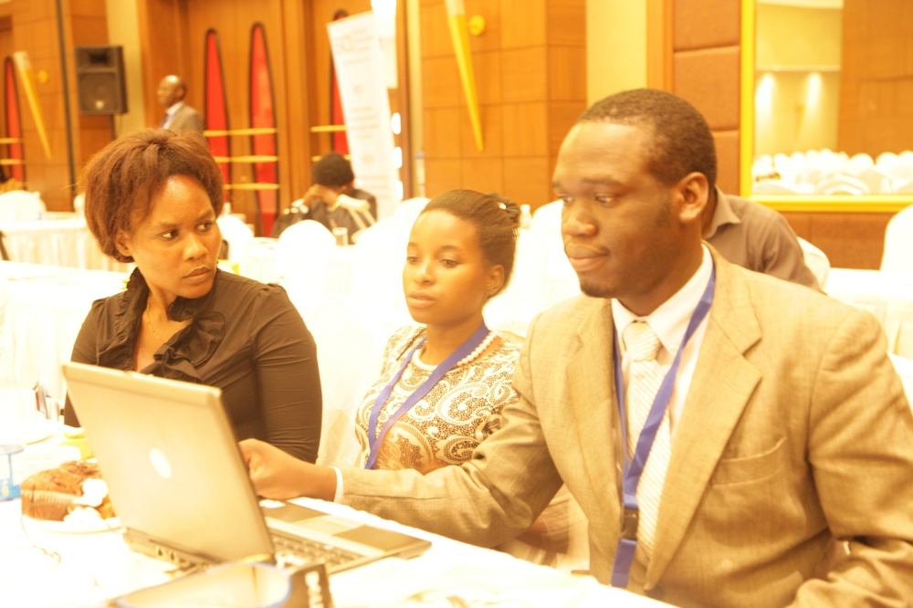 Kivumbi Earnest Benjamin & Princess Scovia at EACO Congress 2015 Sheraton Hotel Kampala (9)