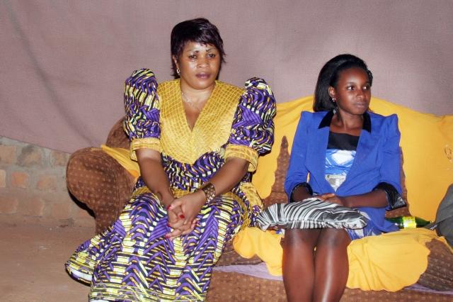 Princess Scovia Kivumbi & Chritianity Focus Church Busega Pastor