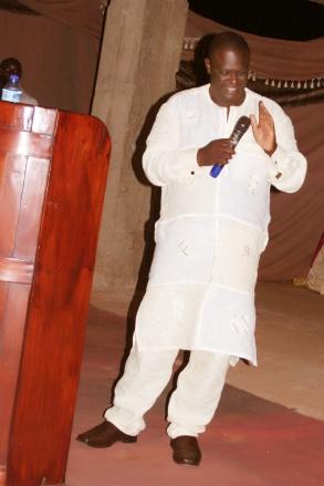 Prophet Felix Omondi at Bethel Healing Church