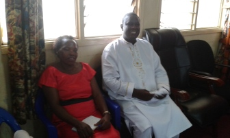 Prophet Felix Omondi at City Lunch Hour Fellowship of Bishop David Kiganda with Kivumbi Earnest Benjamin (16)