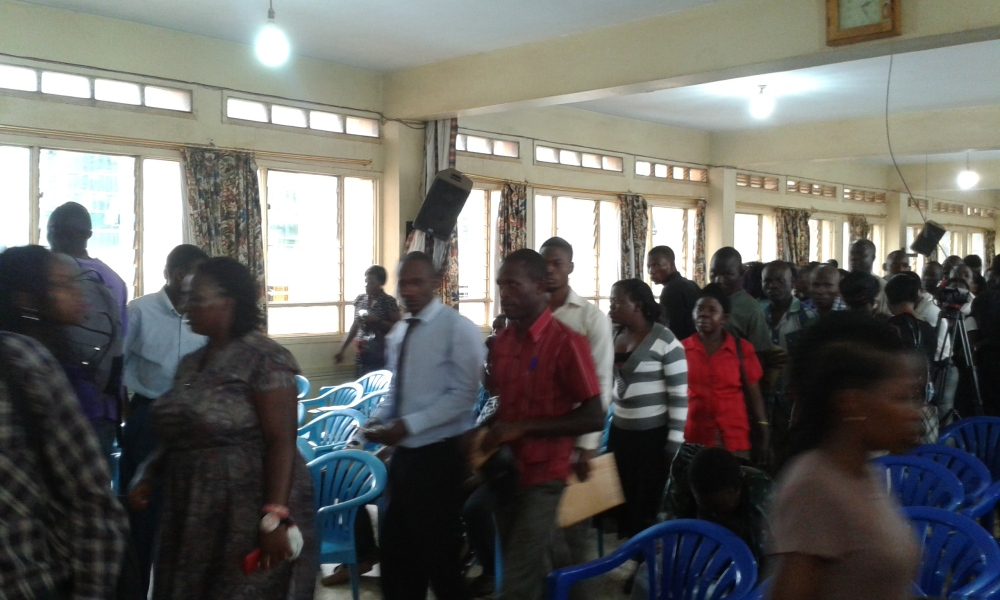 Prophet Felix Omondi at City Lunch Hour Fellowship of Bishop David Kiganda with Kivumbi Earnest Benjamin (18)