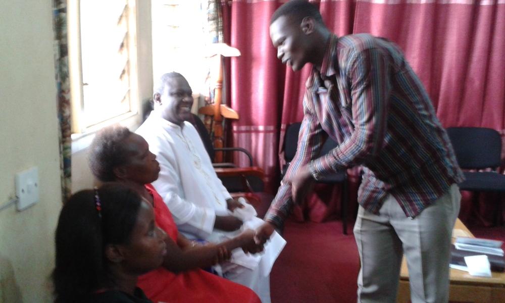 Prophet Felix Omondi at City Lunch Hour Fellowship of Bishop David Kiganda with Kivumbi Earnest Benjamin (26)