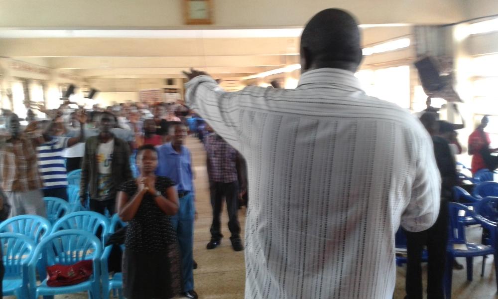 Prophet Felix Omondi at City Lunch Hour Fellowship of Bishop David Kiganda with Kivumbi Earnest Benjamin (27)