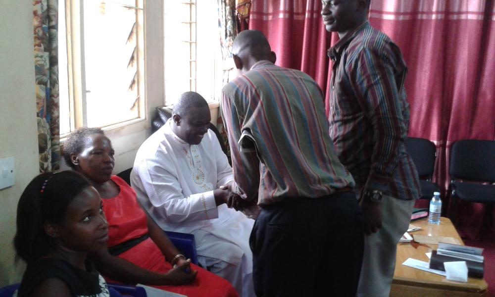 Prophet Felix Omondi at City Lunch Hour Fellowship of Bishop David Kiganda with Kivumbi Earnest Benjamin (28)