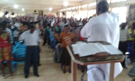 Prophet Felix Omondi at City Lunch Hour Fellowship of Bishop David Kiganda with Kivumbi Earnest Benjamin (34)