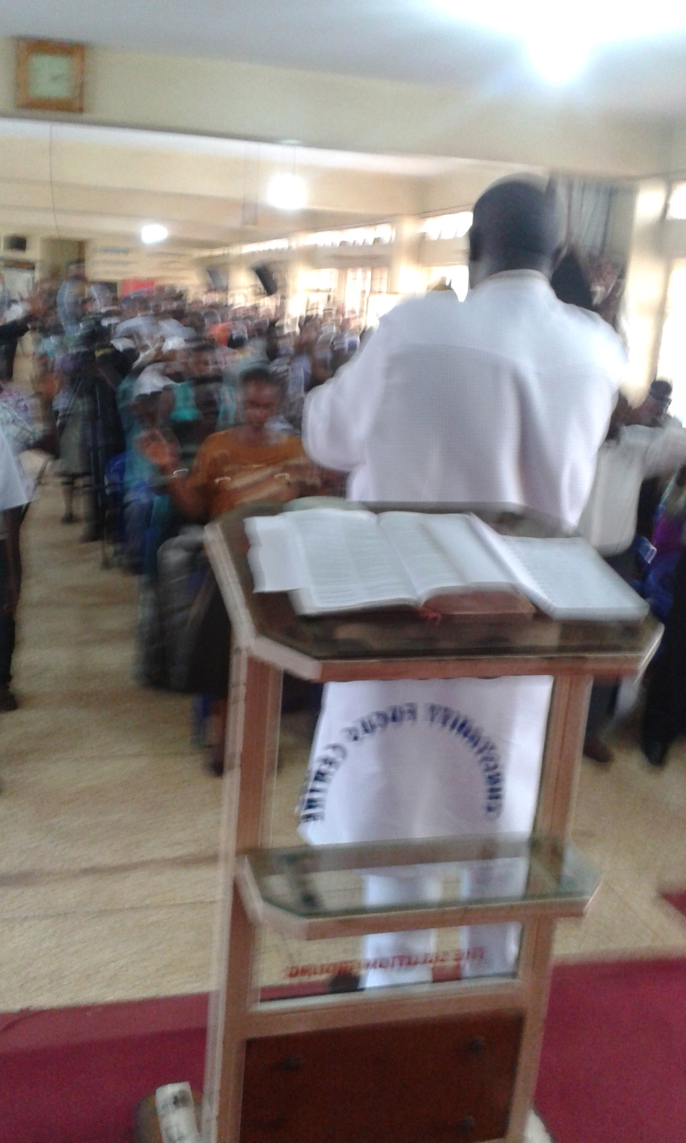 Prophet Felix Omondi at City Lunch Hour Fellowship of Bishop David Kiganda with Kivumbi Earnest Benjamin (35)