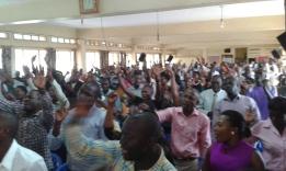 Prophet Felix Omondi at City Lunch Hour Fellowship of Bishop David Kiganda with Kivumbi Earnest Benjamin (5)
