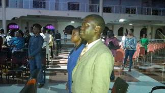 Prophet Felix Omondi & Hon Kivumbi Earnest Benjamin at Liberty Worship Centre of Ps Imelda Namutebi Kula09