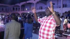 Prophet Felix Omondi & Hon Kivumbi Earnest Benjamin at Liberty Worship Centre of Ps Imelda Namutebi Kula12