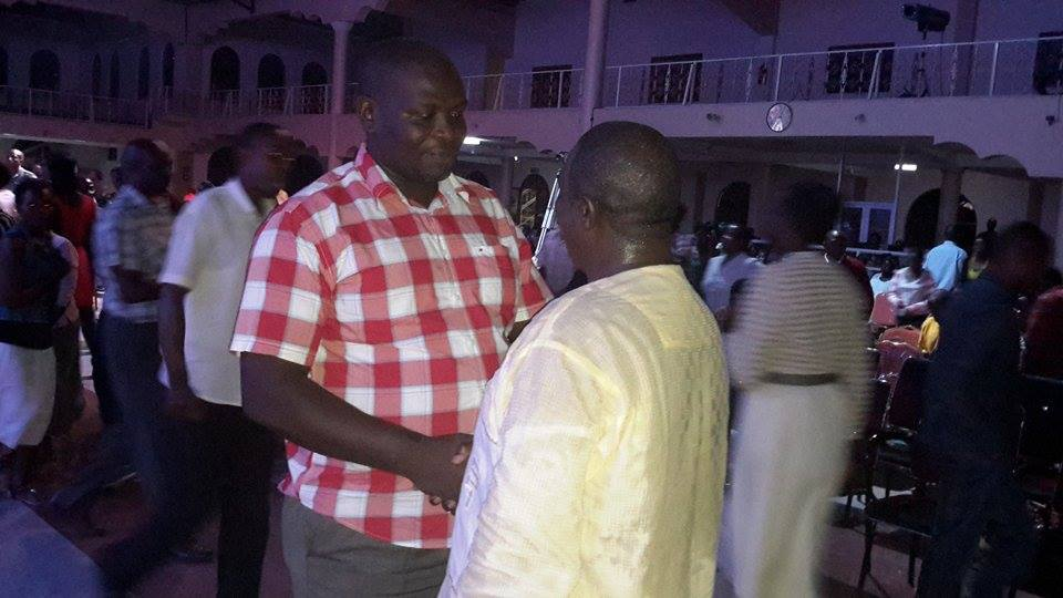 Prophet Felix Omondi & Hon Kivumbi Earnest Benjamin at Liberty Worship Centre of Ps Imelda Namutebi Kula14