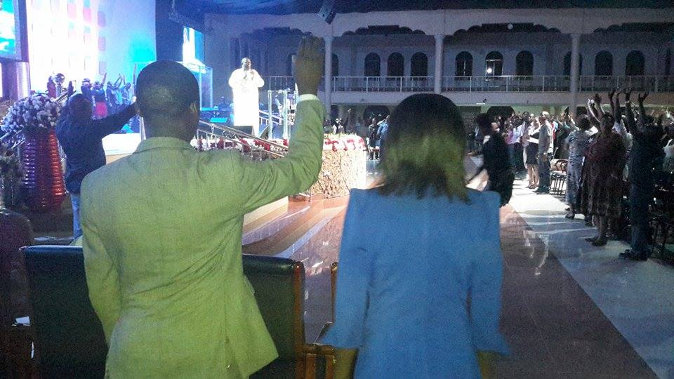 Prophet Felix Omondi & Hon Kivumbi Earnest Benjamin at Liberty Worship Centre of Ps Imelda Namutebi Kula46