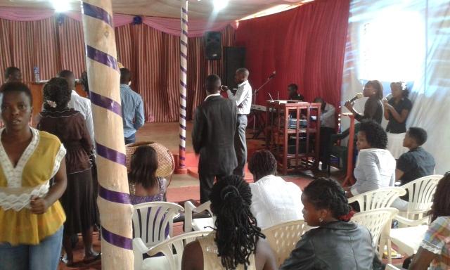 Prophet Felix Omondi, Hon Kivumbi Earnest Benjamin Ministering at Ps Rebecca Majwega10