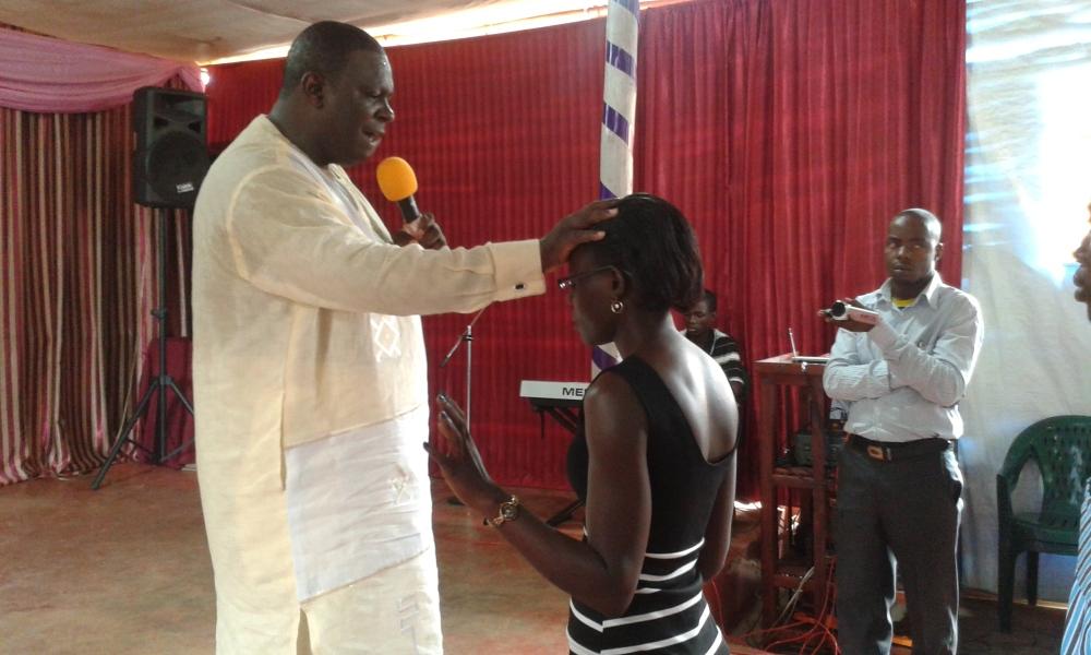 Prophet Felix Omondi, Hon Kivumbi Earnest Benjamin Ministering at Ps Rebecca Majwega12