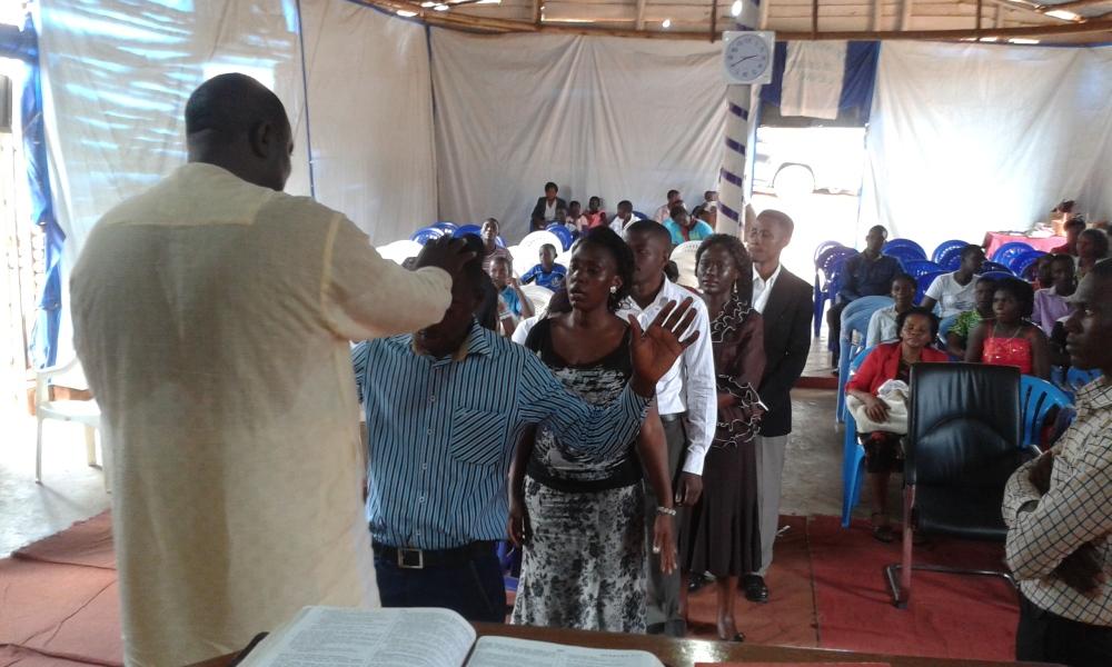 Prophet Felix Omondi, Hon Kivumbi Earnest Benjamin Ministering at Ps Rebecca Majwega16