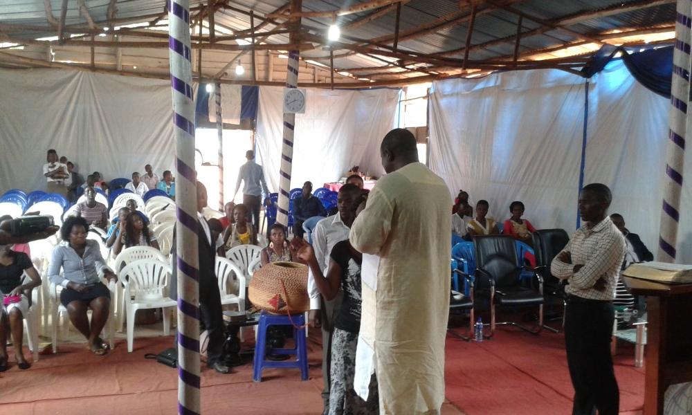 Prophet Felix Omondi, Hon Kivumbi Earnest Benjamin Ministering at Ps Rebecca Majwega17