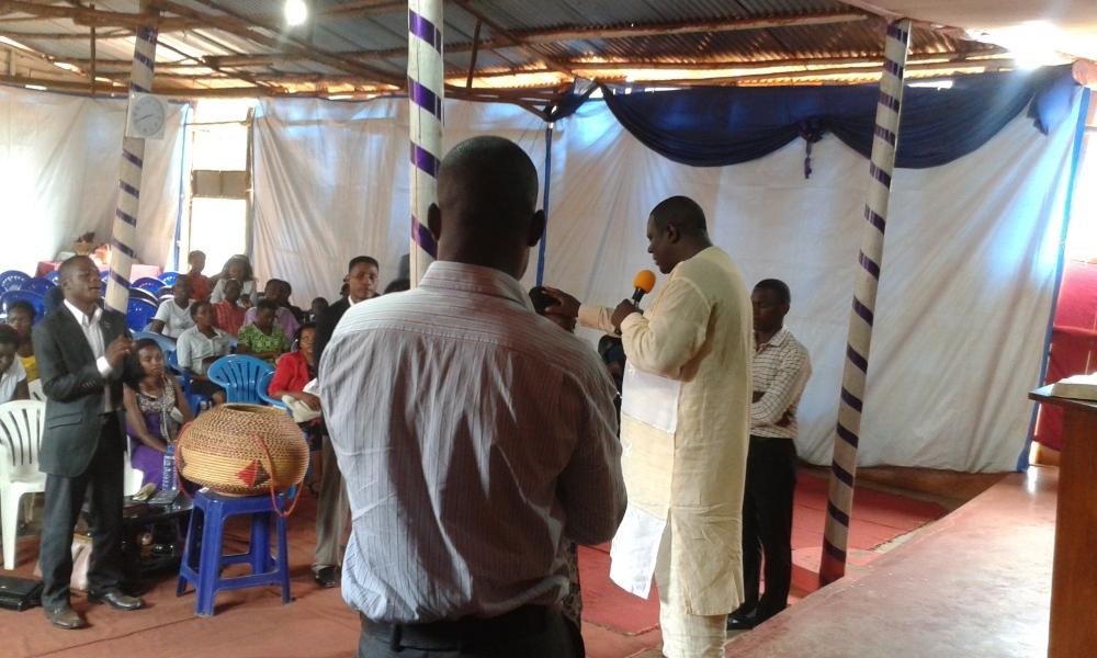 Prophet Felix Omondi, Hon Kivumbi Earnest Benjamin Ministering at Ps Rebecca Majwega18