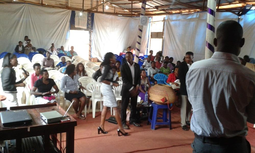 Prophet Felix Omondi, Hon Kivumbi Earnest Benjamin Ministering at Ps Rebecca Majwega19