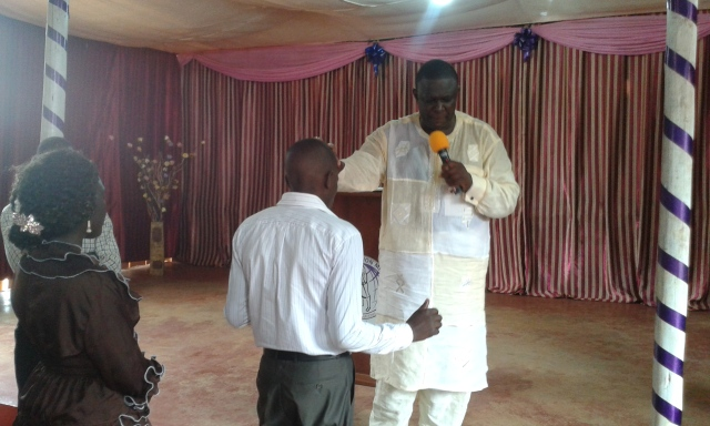 Prophet Felix Omondi, Hon Kivumbi Earnest Benjamin Ministering at Ps Rebecca Majwega22