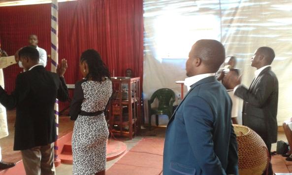 Prophet Felix Omondi, Hon Kivumbi Earnest Benjamin Ministering at Ps Rebecca Majwega28