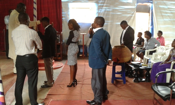 Prophet Felix Omondi, Hon Kivumbi Earnest Benjamin Ministering at Ps Rebecca Majwega29