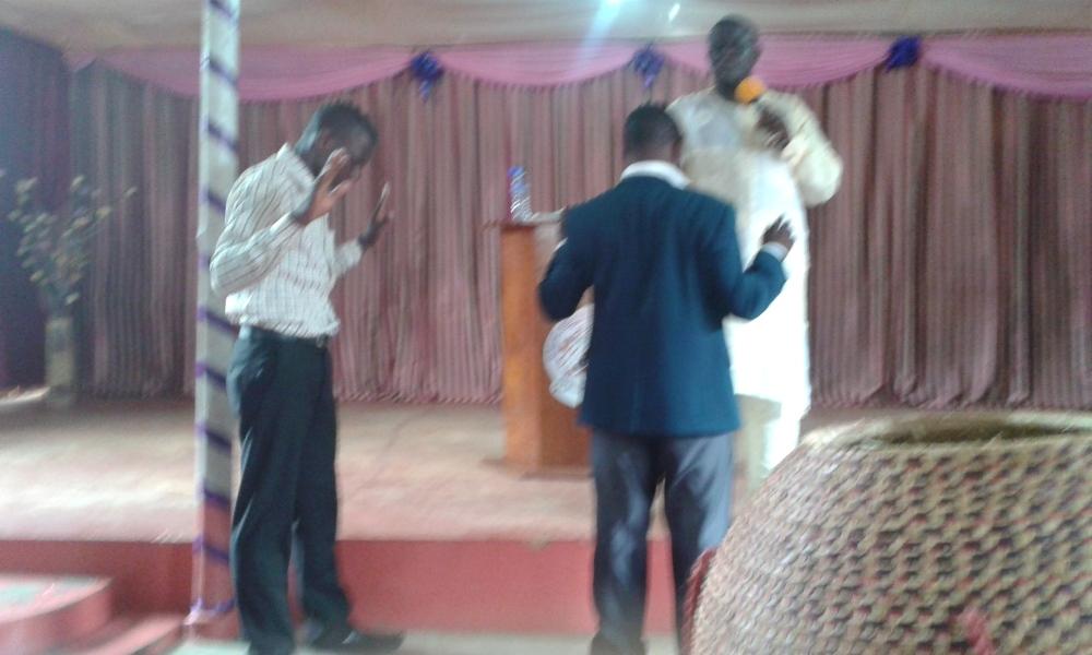 Prophet Felix Omondi, Hon Kivumbi Earnest Benjamin Ministering at Ps Rebecca Majwega33