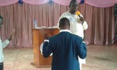 Prophet Felix Omondi, Hon Kivumbi Earnest Benjamin Ministering at Ps Rebecca Majwega34