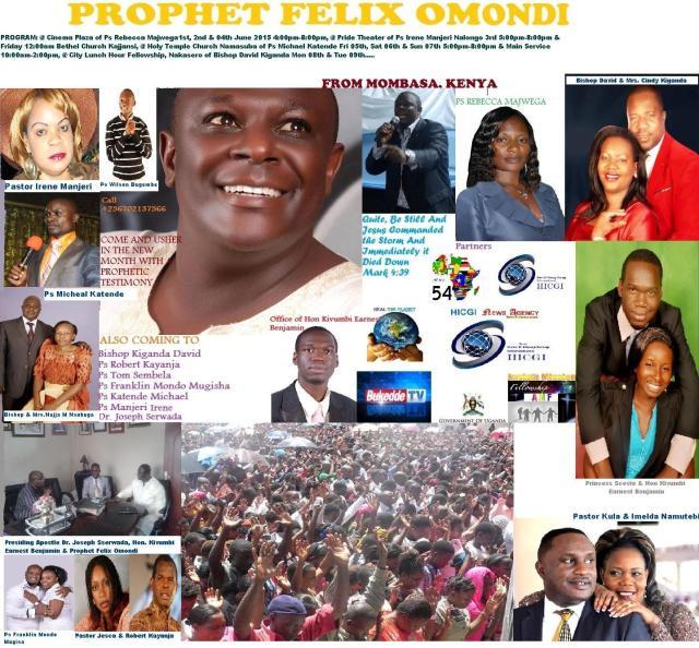Prophet Felix Omondi  updated Poster