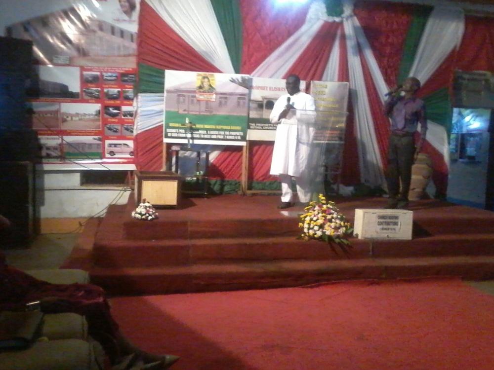 Ps Irene Manjeri Hosts Prophet Felix Omondi & Kivumbi Earnest Benjamin Family