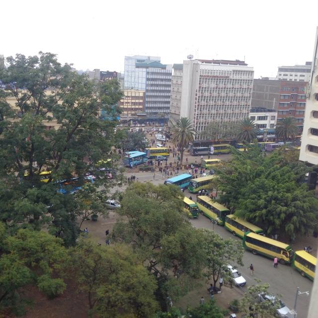 Nairobi City from Hilton Hotel