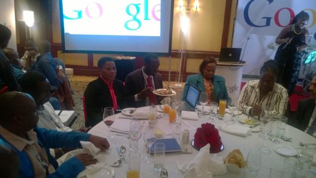 Kivumbi at Fairmont  Norfolk Hotel at Google Dinner (1)