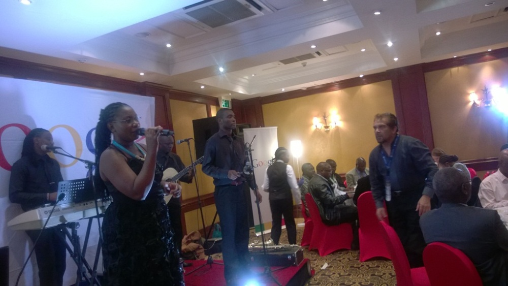 Kivumbi at Fairmont  Norfolk Hotel at Google Dinner (2)