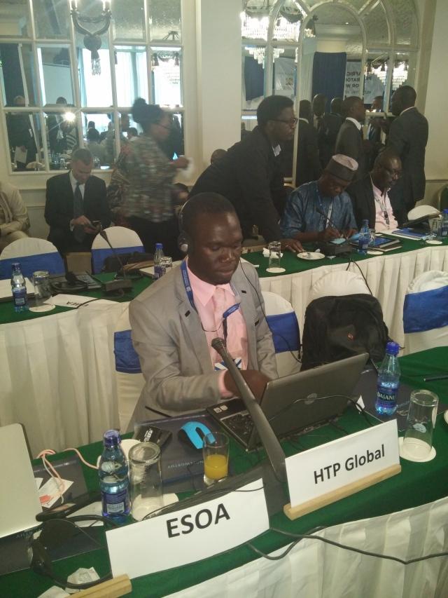 Kivumbi Attending Summit in Nairobi representing Heal The Planet Global Organisation-HTP