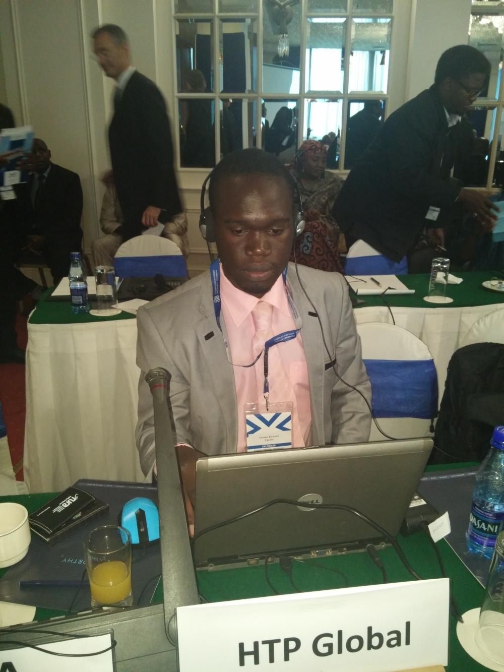 Kivumbi Delegate at the 4th African Regional Preparatory Summit for WRC-15