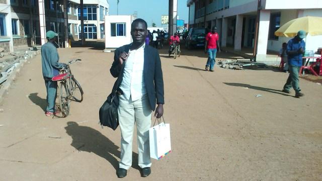 Kivumbi walking at Uganda Kenyan Boarder