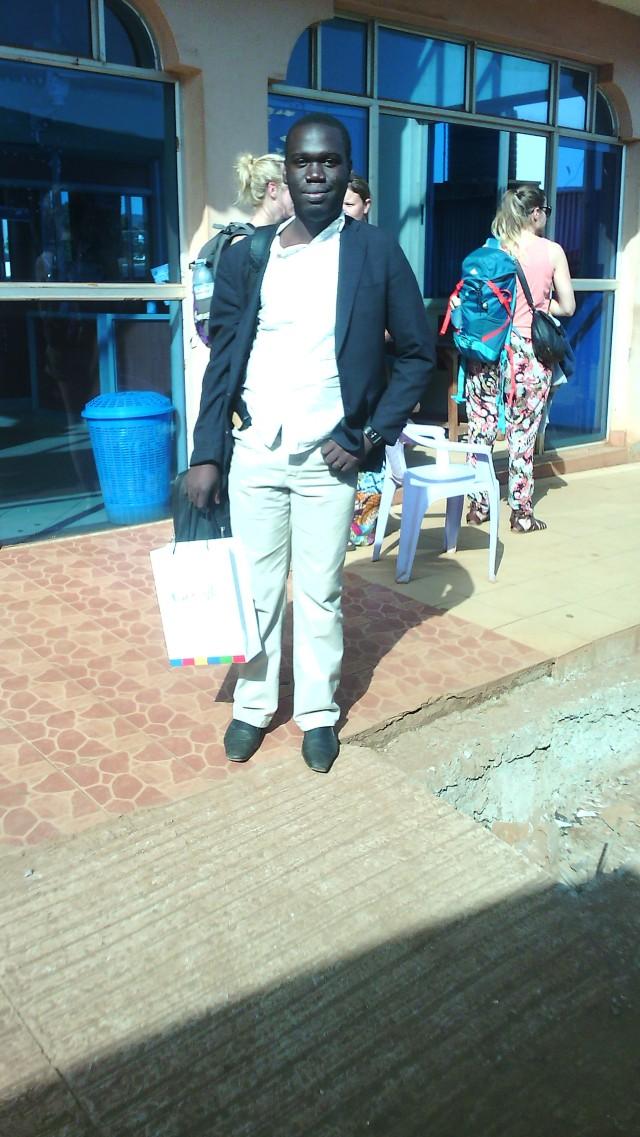 Kivumbi at Kenyan Boarder