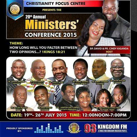 International Pastors at Kiganda Church