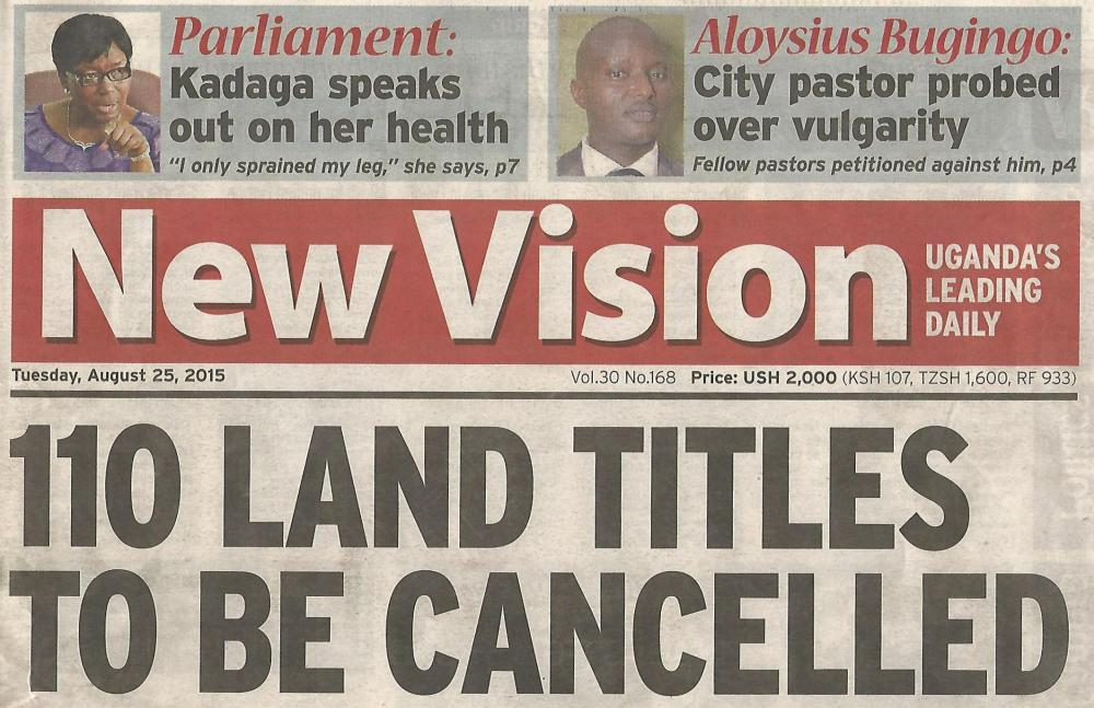 Kivumbi Leads Petition Against Pastor Bugingo in  New Vision Paper-1