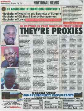 Red Pepper Publication on Kivumbi & Pastors Petition Agaisnt Bugingo Aloysius