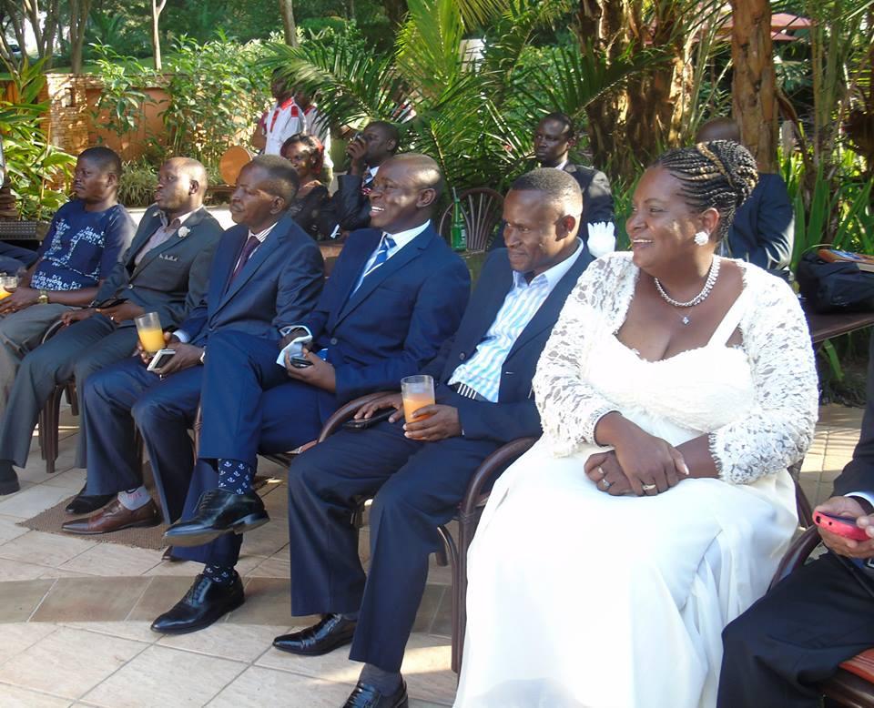 Ugandan & American Pastors alongside Ps Bweyinda David at Serena on his Silver Jubilee in Ministry