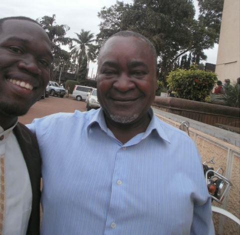 Hon Kivumbi Earnest Benjamin n EX VP Prof Gilbert Balibaseka Bukenya