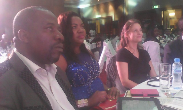 Bishop David Kiganda & Hon Kivumbi Earnest for Rising Star Awards at Sheraton Hotel (2)