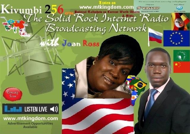 Kivumbi 256 American Talkshow with Joan Ross