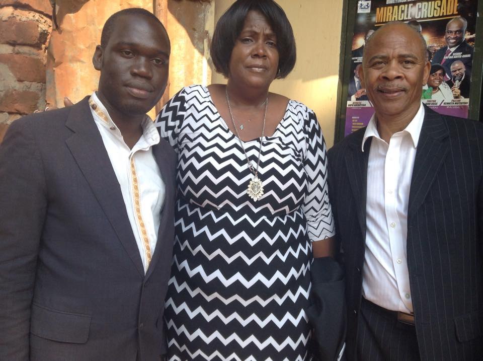 Hon Kivumbi Earnest Benjamin, American Couple Joan & William Ross
