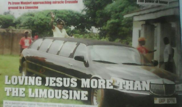 Pastor Irene Manjeri