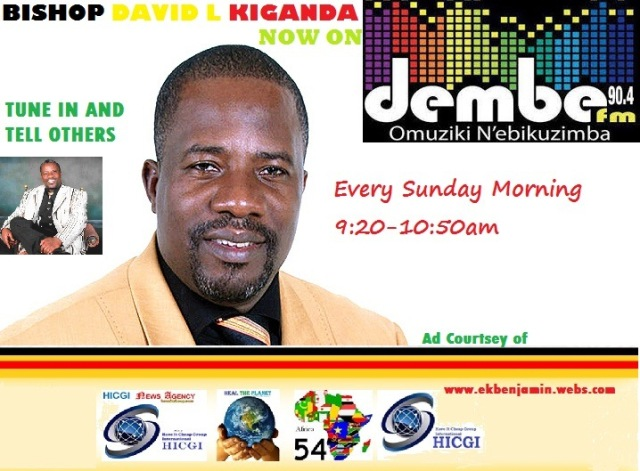 Ps David Kiganda on 90.4 Dembe Fm Poster
