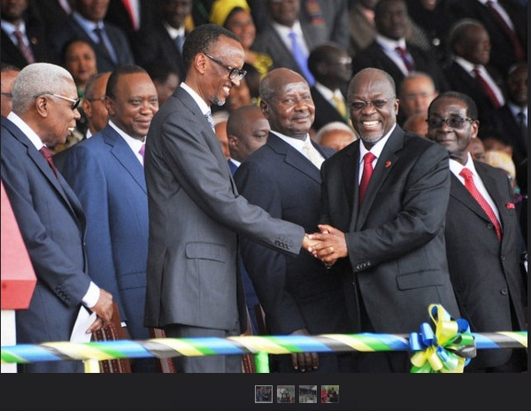 AfricanHeads of State at TZ President Swearing in