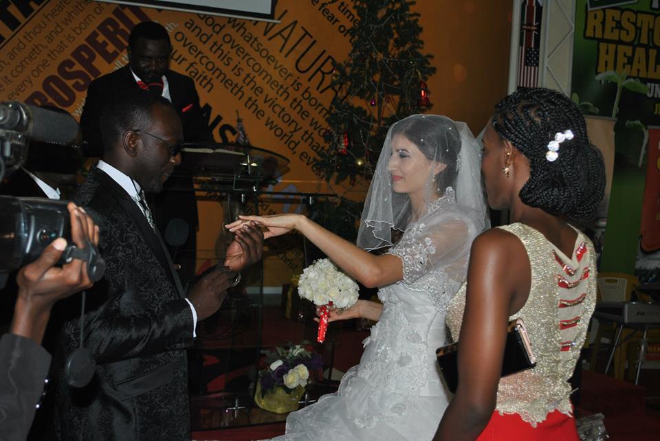 Mr & Mrs. Ntwatwa on their wedding