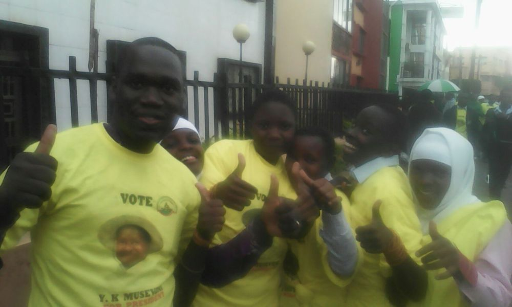 Kivumbi for Museveni 2016