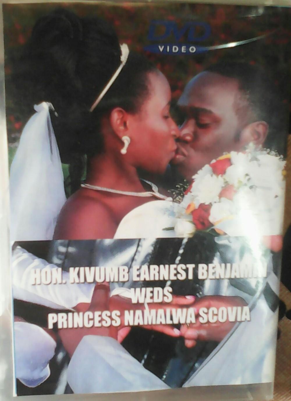Kivumbi Weds Princess Scovia Namalwa